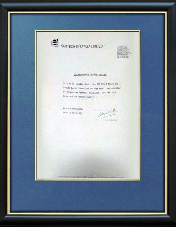 certificate- 09
