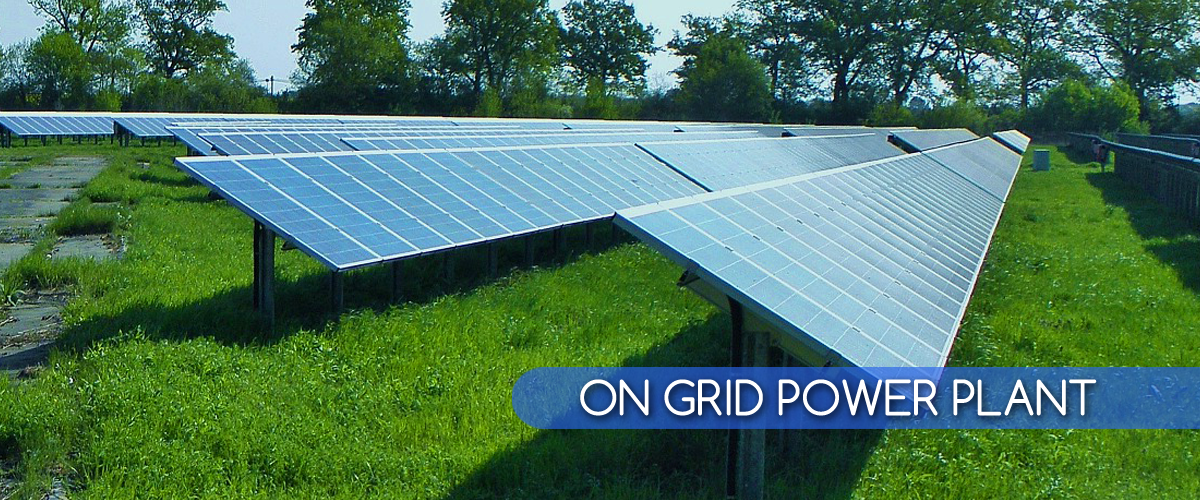 on grid power plant