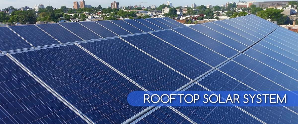 rooftop solar system